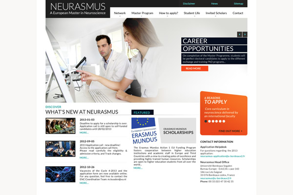 Neurasmus Home Page